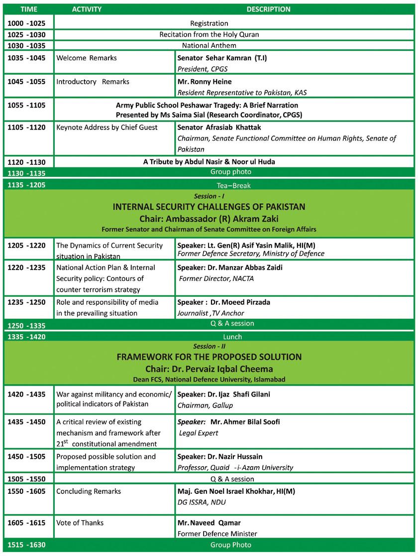 NAP programme